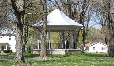 Park Gazebo Village of Marine Illinois